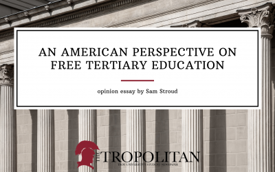 An American Perspective on Free Tertiary Education